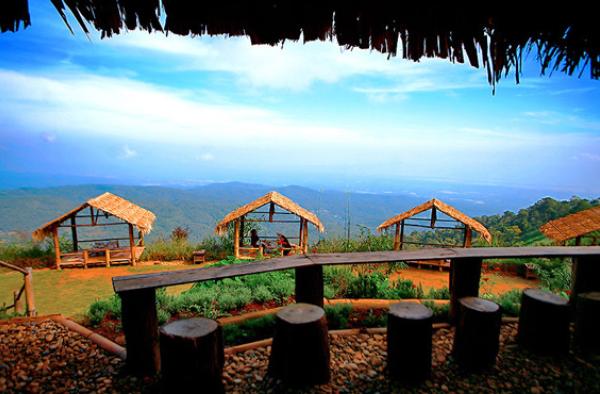 """Doi Mon Jam"", Chiang Mai Province in Thailand"