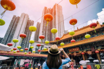 Famous temples in Hong Kong